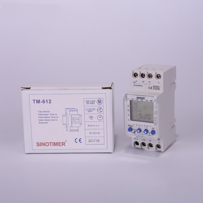 2 Channels 7Days Programmable Timer