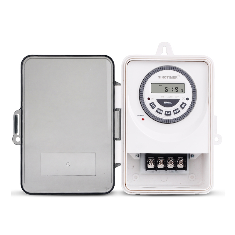 IP55 Weatherproof Timer Used in Out&Indoor