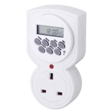 UK 7 Days Digital Plug in Timer