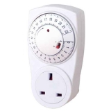 UK 22hrs Mechanical Countdown Plug in Timer