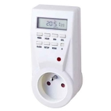French 7 Days Digital Plug in Timer