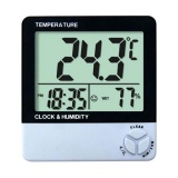 Humidity and Temperature Clock Meter