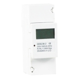 Digital Single-phase DIN-rail Watt-hour Meter