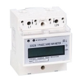 Digital DIN rail Single Phase kWh Meter
