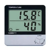 Room Humidity Temperature Meter